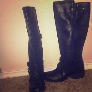 Giani Bini Leather Boots
